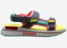 PUMA FUTURE RIDER SANDALS BG [MENS SIZE 7] BUBBLEGUM/YELLOW [375880-01] UNISEX