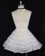 SHORT PETTICOAT HALF SLIP Dirndl German Oktoberfest Swing Dress Skirt L XL 2XL