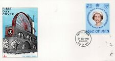 Isle of Man Unaddressed 1981 QE11 £2 definitive first day cover