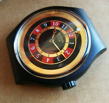 SWATCH JAMES BOND 007 ROULETTE LICENSE TO KILL - SUDB103 - 2002 - NOT working