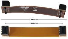 "Asus 12cm SLI Bridge Brücke flexibel 120mm lang 4,7"" NEU OVP new 12 cm original"