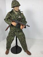 1/6 21ST CENTURY USMC MARINE RAIDER SGT THOMPSON + CIGAR WW2 DRAGON BBI DID