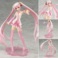 Anime VOCALOID Sakura Hatsune Miku Megurine Luka Figures Toys Christmas Gifts