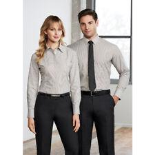 10x BIZ COLLECTION Mens Berlin Long Sleeve Shirt S121ML LEISURE/CORPORATE MENS