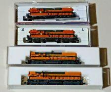 Atlas N Scale Gn Trains Locomotive, Diesel, Emd Gp7, Gp9, Sd9 Engines Nib