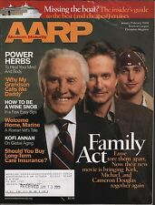 AARP The Magazine January February 2003 Micheal Douglas VG 021716DBE