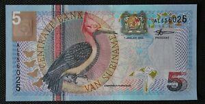 Surinam - Suriname - Billet de 5 Gulden 2000 Neuf - UNC P-146