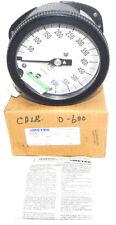 Nib Ametek 1931 Gauge Range: 600 Psi, Conn. 1/2 Anpt Lm, Size: 4-1/2'' 150228