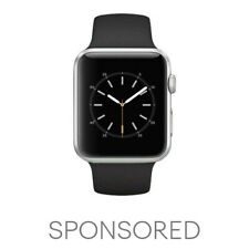 Apple Watch Series 3 Aluminum (sport) 42 MM GPS (Black Band Only) - Great