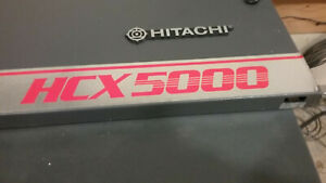 Decommissioned Hitachi HCX 5000 215 port/16 trunk system.
