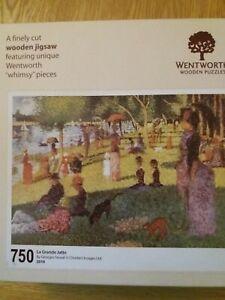 Wentworth wooden jigsaw puzzle 750 pieces - La Grande Jatte