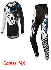 Alpinestars 2018 Techstar Venom Jersey Pants Combo Black White Aqua 34/L