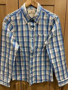 Hollister Mens Shirt Blue Small
