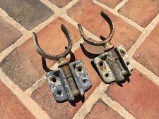 Vintage Antique Oar Locks Stow Away Oarlock & Bracket functional