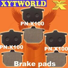 FRONT REAR Brake Pads for Honda GL 1100 A/DA/B/DB (SC02) 1980-1982
