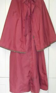 CARRIAGE DRIVING CLOAK SIZE LARGE LONG LENGTH
