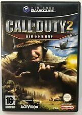 Nintendo GameCube CALL OF DUTY 2 BIG RED ONE PAL ITA