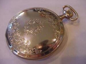 1901 MODEL 1894 WALTHAM 10k GOLD FILLED HUNTING CASE ANTIQUE  POCKET WATCH!