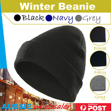 Winter Warm Unisex Women Men Hat Slouch Baggy Hat Beanie Ski Knitted Beret AU