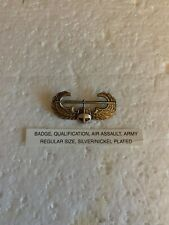 Military Us Army air assault badge