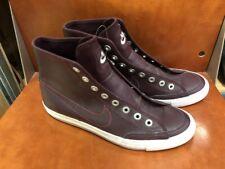 Dark Red Maroon Nike Go Mid Qam Fall 2001 Sample Shoes Size 9