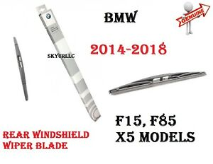 2014-2018 BMW F15 F85 X5 Rear Windshield Single Wiper Blade GENUINE 61627294429
