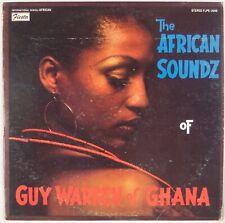 GUY WARREN: The African Soundz of Ghana FIESTA Spiritual Afro Jazz LP