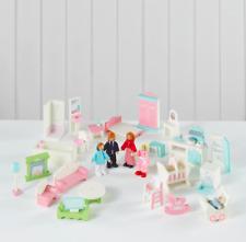 GRANDE set di mobili casa delle bambole-Bundle per bambini, regalo di Natale, Regalo