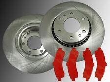 2 Bremsscheiben 325mm Satz Bremsklötze Vorne Chevrolet Trailblazer 2002-2005 EXT