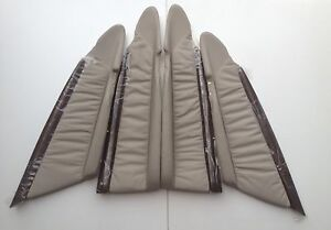 WH WK WL Grange HSV VY VZ new1 Full Set Light Reed wood Leather inserts