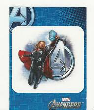 Avengers Assemble Upper Deck 2012 Chase Card Sticker S7 NM+ Thor