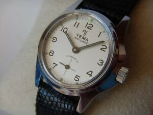 Yema Stock New N.O.S.50s 70 Reassembly Manual Sublime Dial