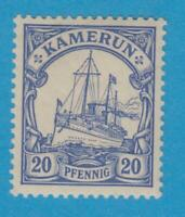 GERMAN COLONIES - CAMEROUN 10  MINT LIGHTLY HINGED OG *  NO FAULTS VERY FINE !