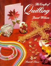 The Craft of Quilling,Greetings Cards & decorative items for home,Janet Wilson