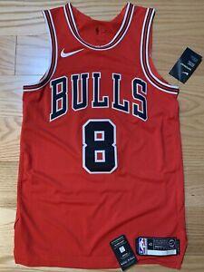 Nike NBA Authentic Jersey Zach LaVine Bulls Icon Edition Sz S 40 AV2627-657