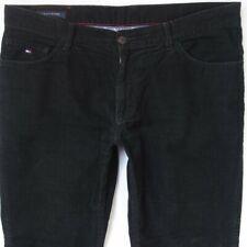 Mens Tommy Hilfiger MERCER Straight Black Cords Jeans W38 L32