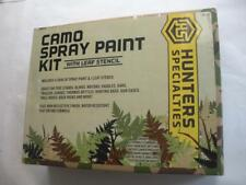 Hunters Specialties 320 Camo Spray Paint Kit with Stencil 25641