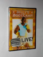 Billy's Bootcamp DVD  Cardio Bootcamp Live By Billy Blanks. All Regions. New.