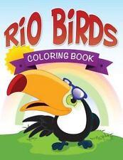 Rio Birds Coloring Book (Paperback or Softback)
