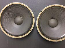 "JBL 2205 B MATCHED PAIR High Performance 15"" JBL Woofers Speakers"