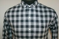 Polo Ralph Lauren Mens Long Sleeve Button Down Shirt Size M Medium Black
