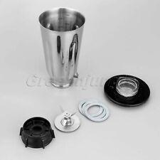 Durable 5 Cup Stainless Steel Jar Blade Base Lid Gasket Set For Oster Blenders
