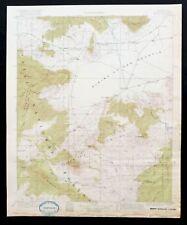 Pelona New Mexico Antique 1918 USGS Topographic Map Apache NF Gila NF Topo
