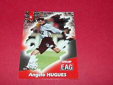 PANINI FOOTBALL CARD 98 1997-1998 ANGELO HUGHES EN AVANT GUINGAMP EAG ROUDOUROU