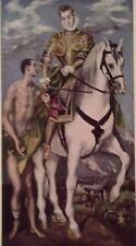 St. Martin and the Beggar (MINI PRINT) Domenicos  T. El Greco