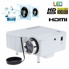 Mini Portable LCD LED Proyector Projector PC Laptop VGA/USB HD 1080P USB HDMI US