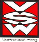 VISION STREET WEAR Original 'De los años 80 Adhesivo De Skateboard Varios Logos