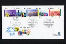 (SBAZ 157) Malta 1999 FDC UPU 125th Anniversary