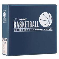 "Lot of 10 Ultra Pro 3"" Basketball Card Binder Collector's Album Blue Binders"