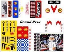 LEGO 8161 - Speed Racer: Grand Prix Race - STICKER SHEET 1 & 2